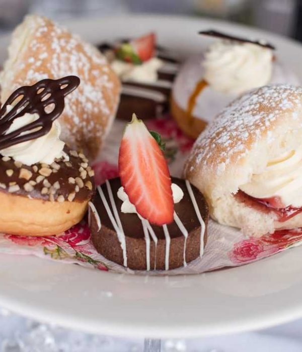 Food Tours, Assortment of Cakes - Flaxton Gardens High Tea - Coast to Hinterland Tours