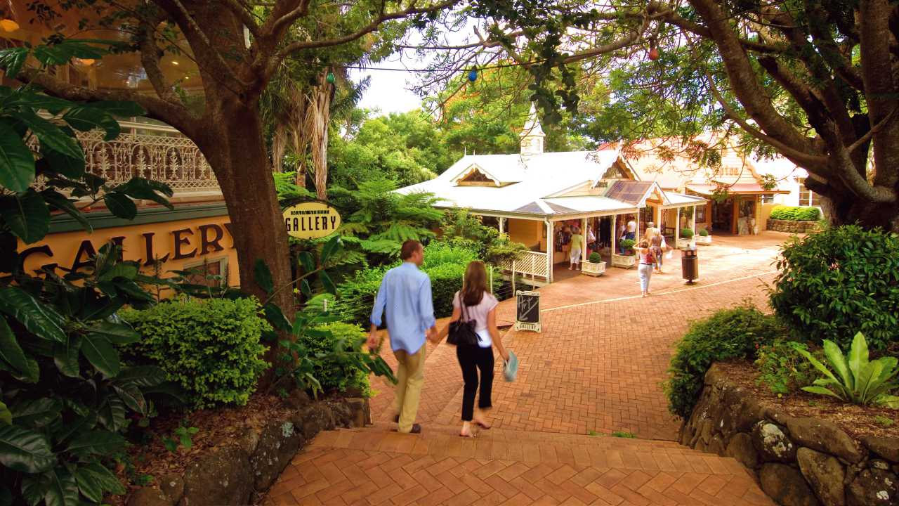 Montville Village - Coast to Hinterland Tours - Sunshine Coast