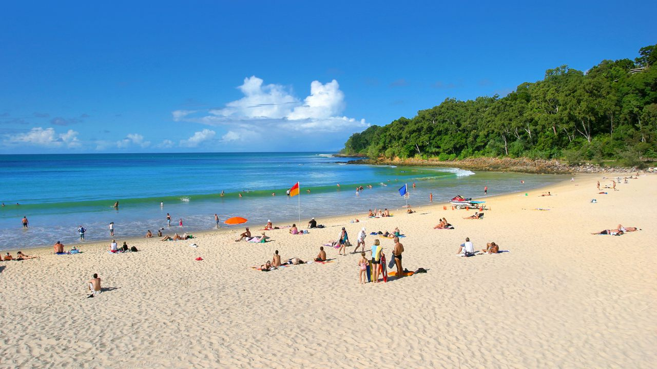 Beaches,Main Beach Noosa - Coast to Hinterland Tours