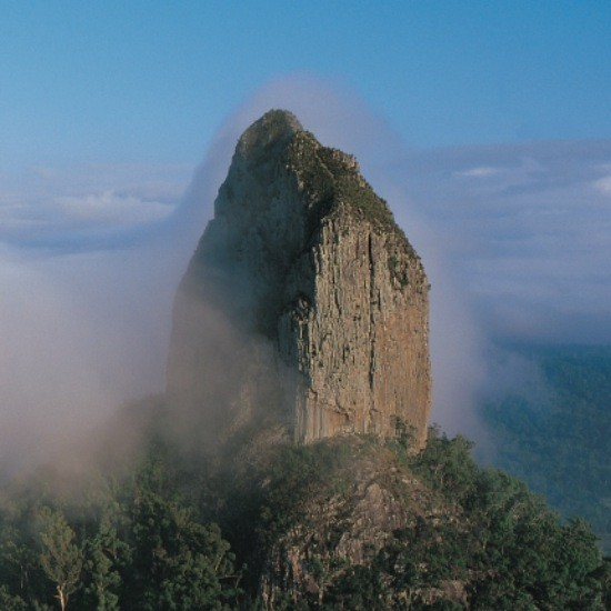 Glass House Mountains, Mount Coonowrin
