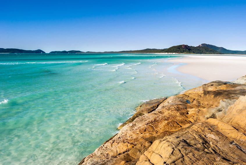 Paradise beach (Whitsunday Islands, Australia)