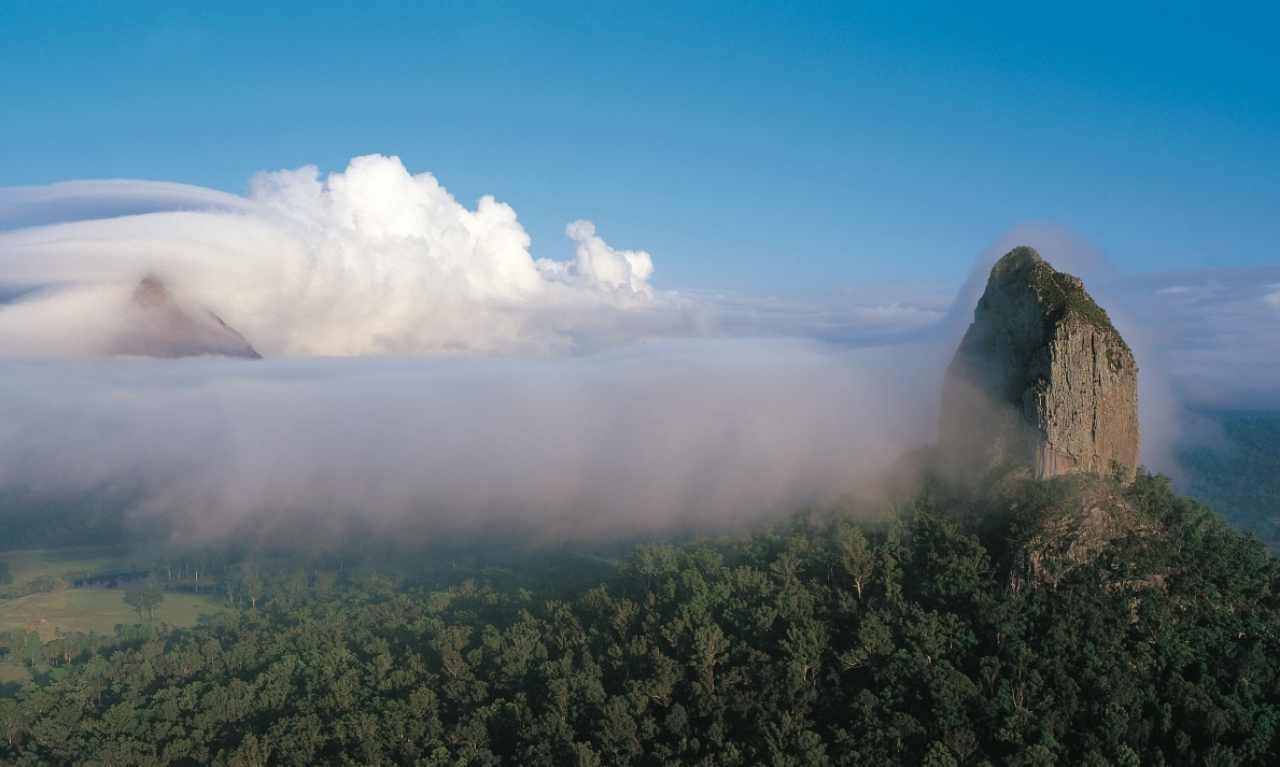 Heritage Listed Glasshouse Mountains | Sunshine Coast