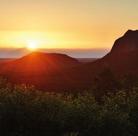 Glasshouse Mountains Destination