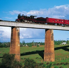Gympie Rattler Rail | Coast to Hinterland Tours