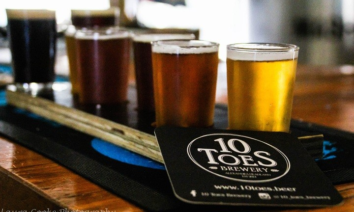 10 Toes Brewery | Sunshine Coast Beer Tours
