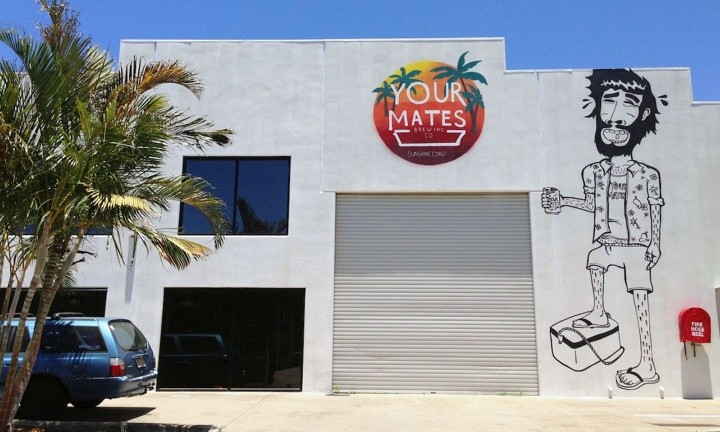 Your Mates Brewing Co. Craft Beer Tour. Group things to do Sunshine Coast
