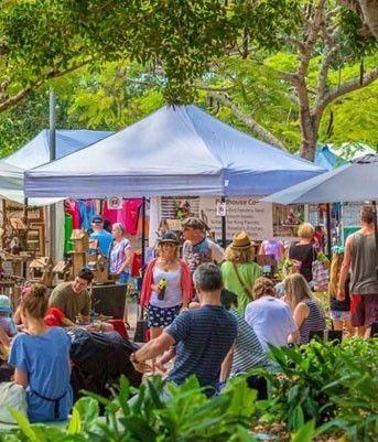 Eumundi Markets | Coast to Hinterland Tours, Sunshine Coast