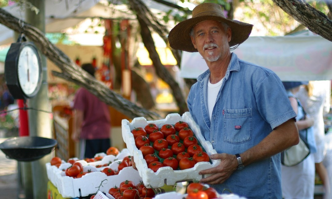 Eumundi Markets, Yandina. Coast to Hinterland Tours, Sunshine Coast