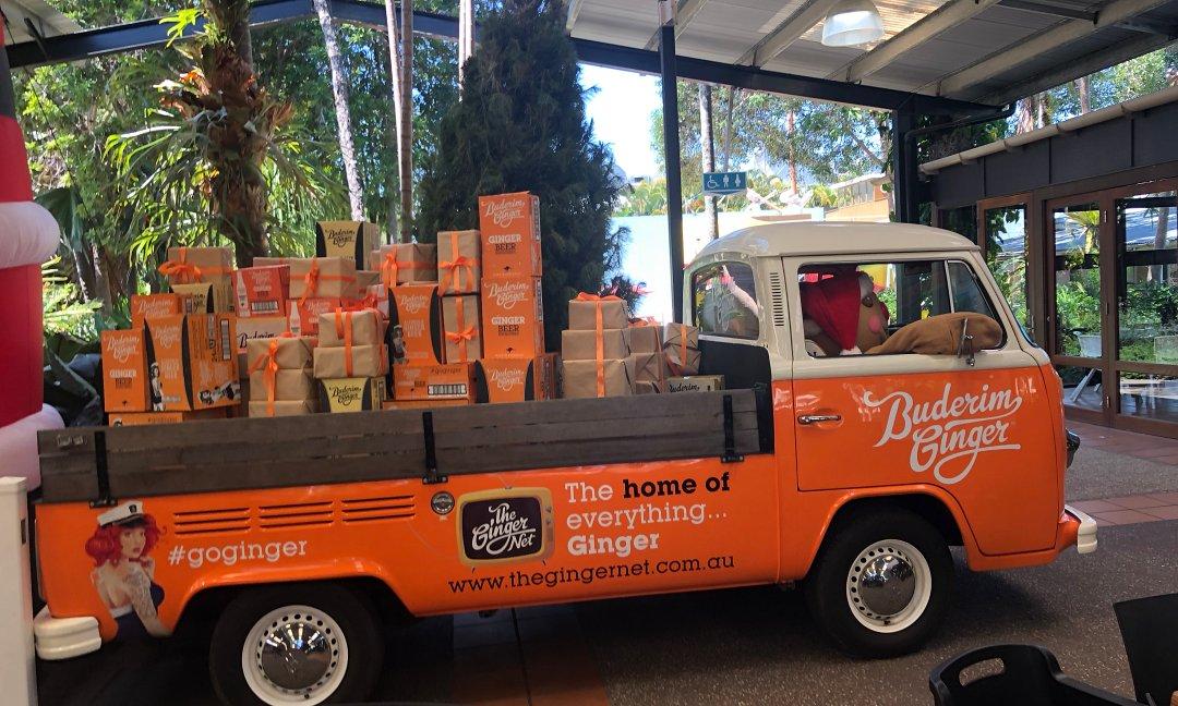 The Ginger Factory Entrance,Yandina. Sunshine Coast Day Tour