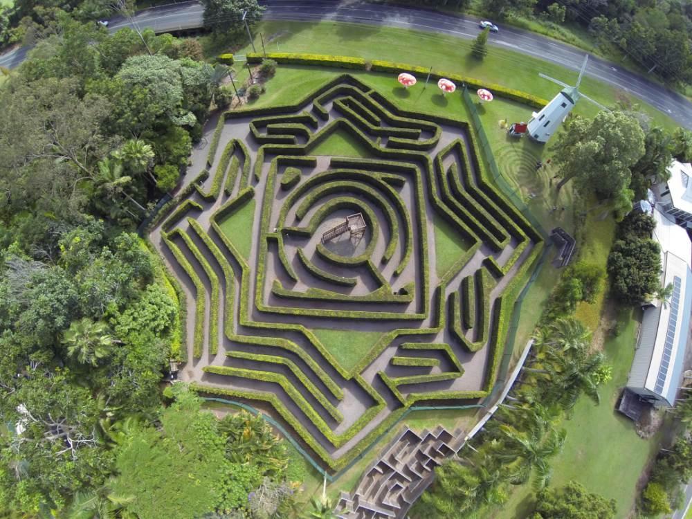 Bellingham Maze, Sunshine Coast