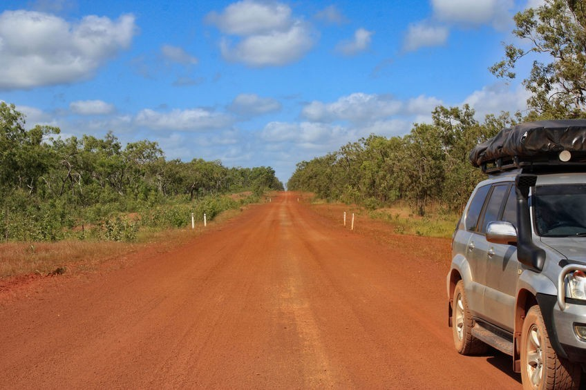 Cape York Queensland,long straight road outback Australia,Cape York Peninsula,Far North Queensland
