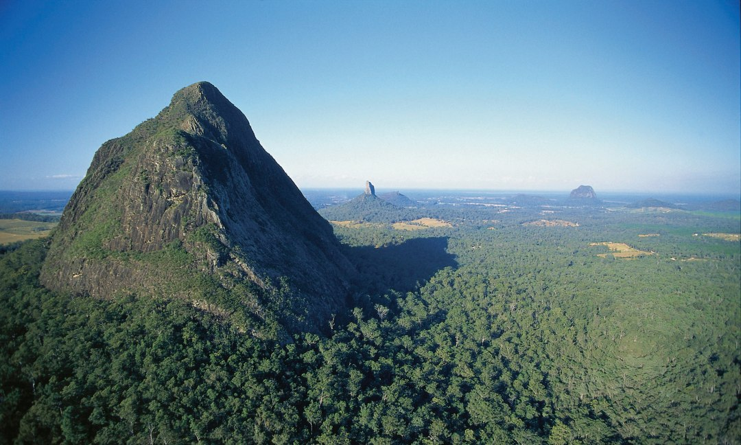 Sunshine Coast Hinterland, Glass House Mountains - Queensland. Coast to Hinterland Tours