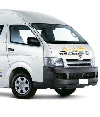 Day Tour Minibus. Coast to Hinterland Tours