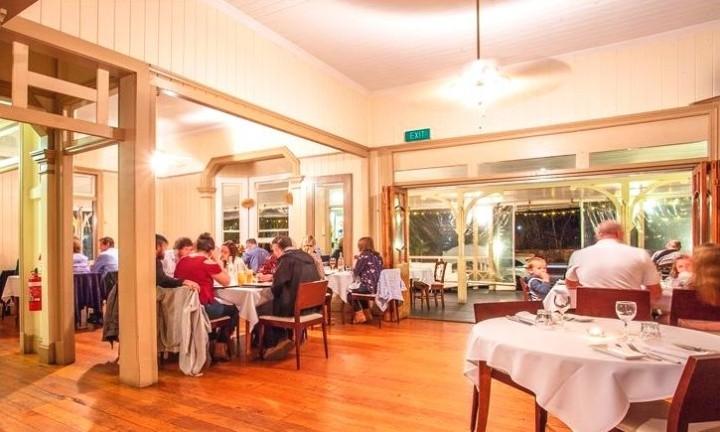 Kingston House Restaurant. Things to do Sunshine Coast, Gympie Day Tour