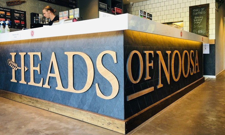 Heads of Noosa Brewery. Sunshine Coast Craft Beer Tour