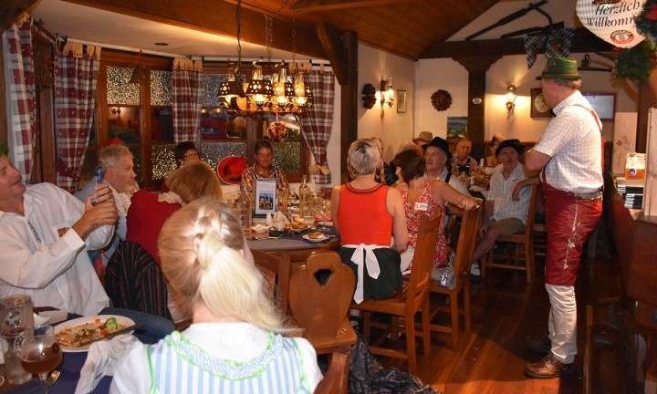 King Ludwigs German Restaurant and Bavarian Beer Bar. Food Tour Sunshine Coast Hinterland
