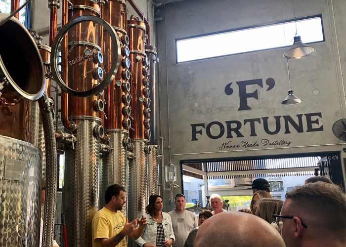 Sunshine Coast Distillery Tour