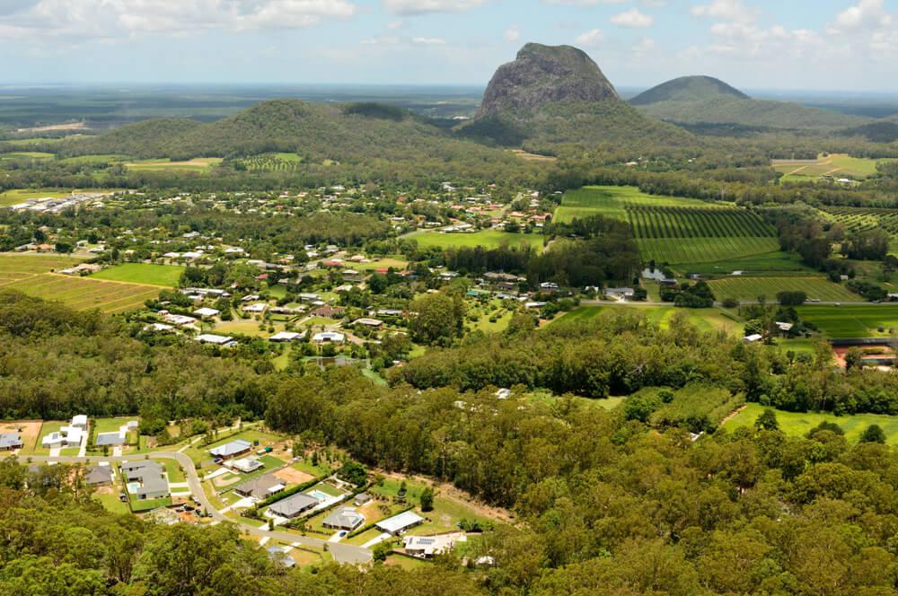 Glass House Mountains Australia View